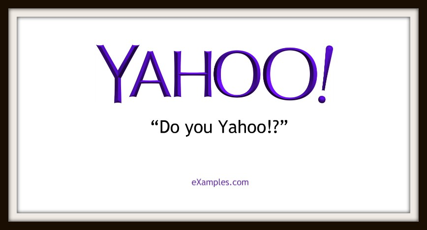 "Yahoo!: ""Do you Yahoo!?"""