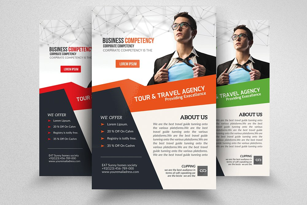9 training brochure designs editable psd ai format for Training course brochure template