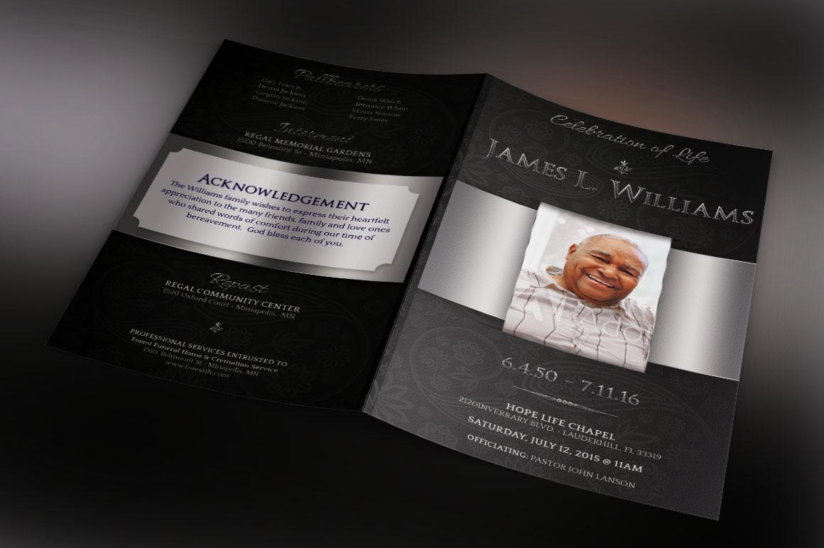 free 32  remarkable funeral brochure design samples in