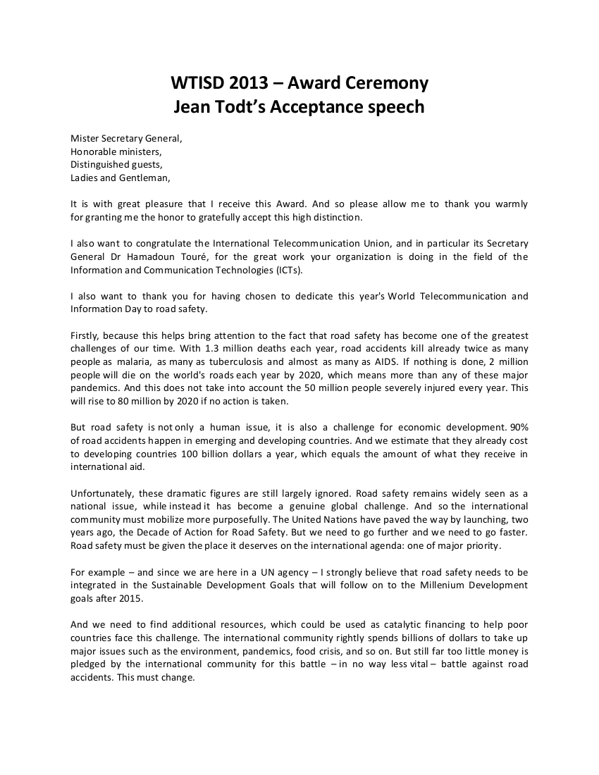 speech competition certificate template gallery award speech template