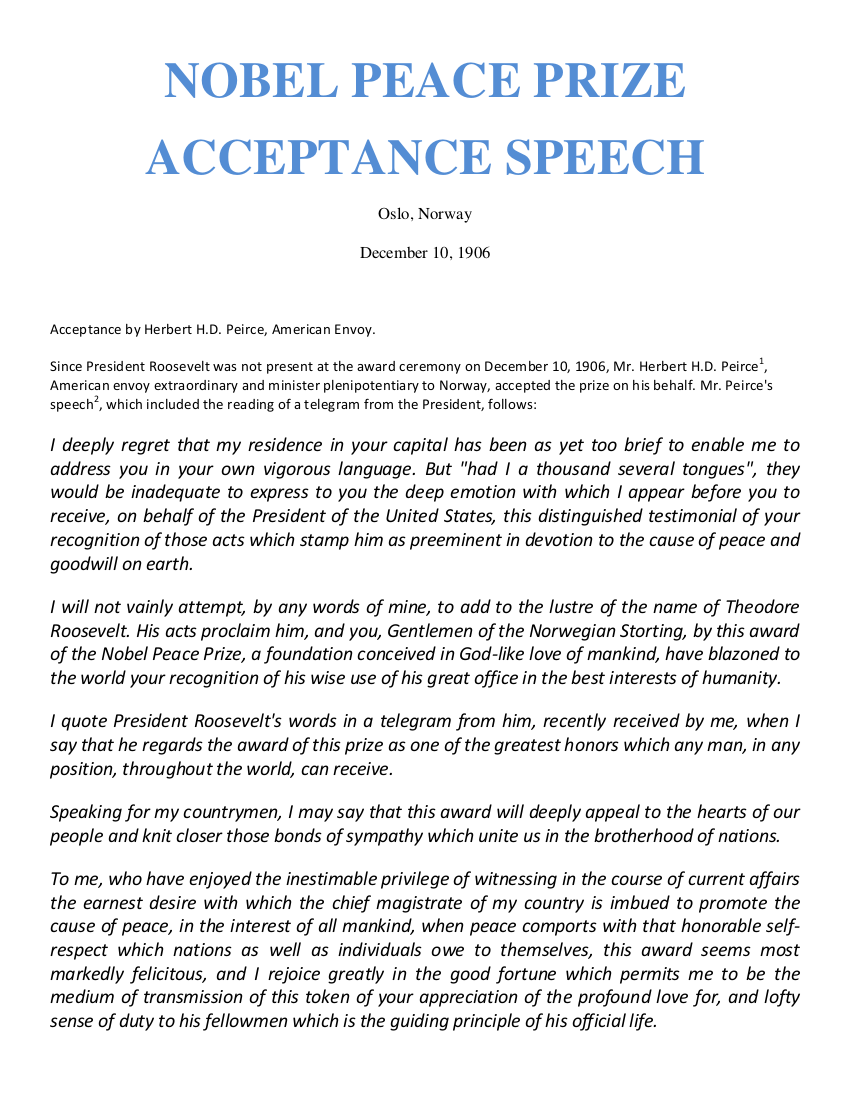 19+ Acceptance Speech Examples