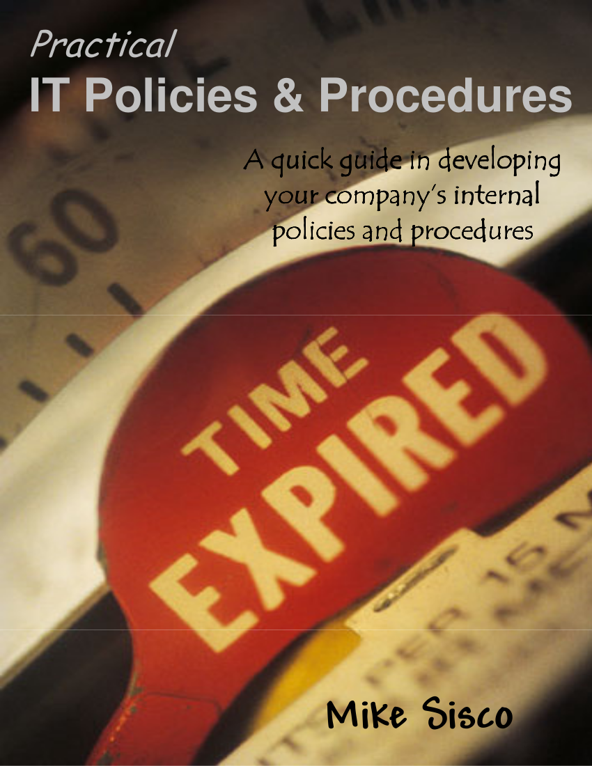 8 it policies procedures