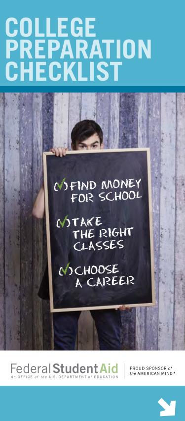 8 college prep checklist