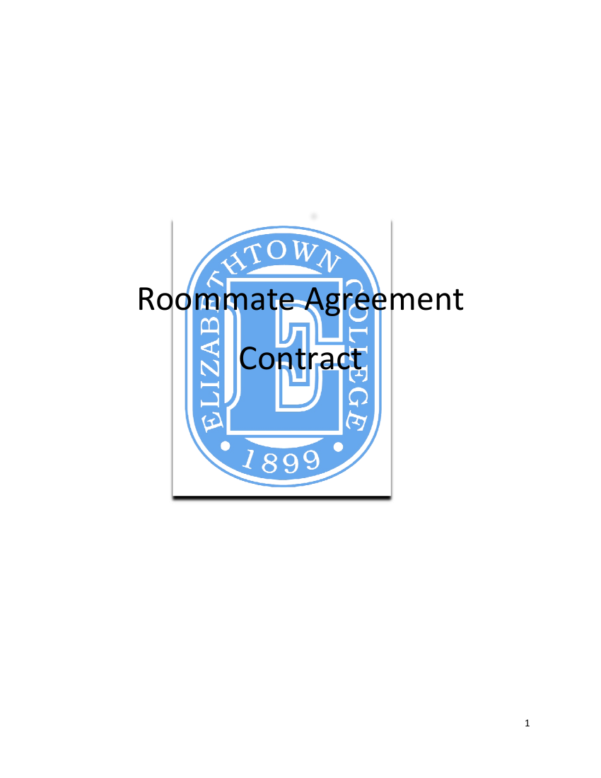 9 roommate agreement