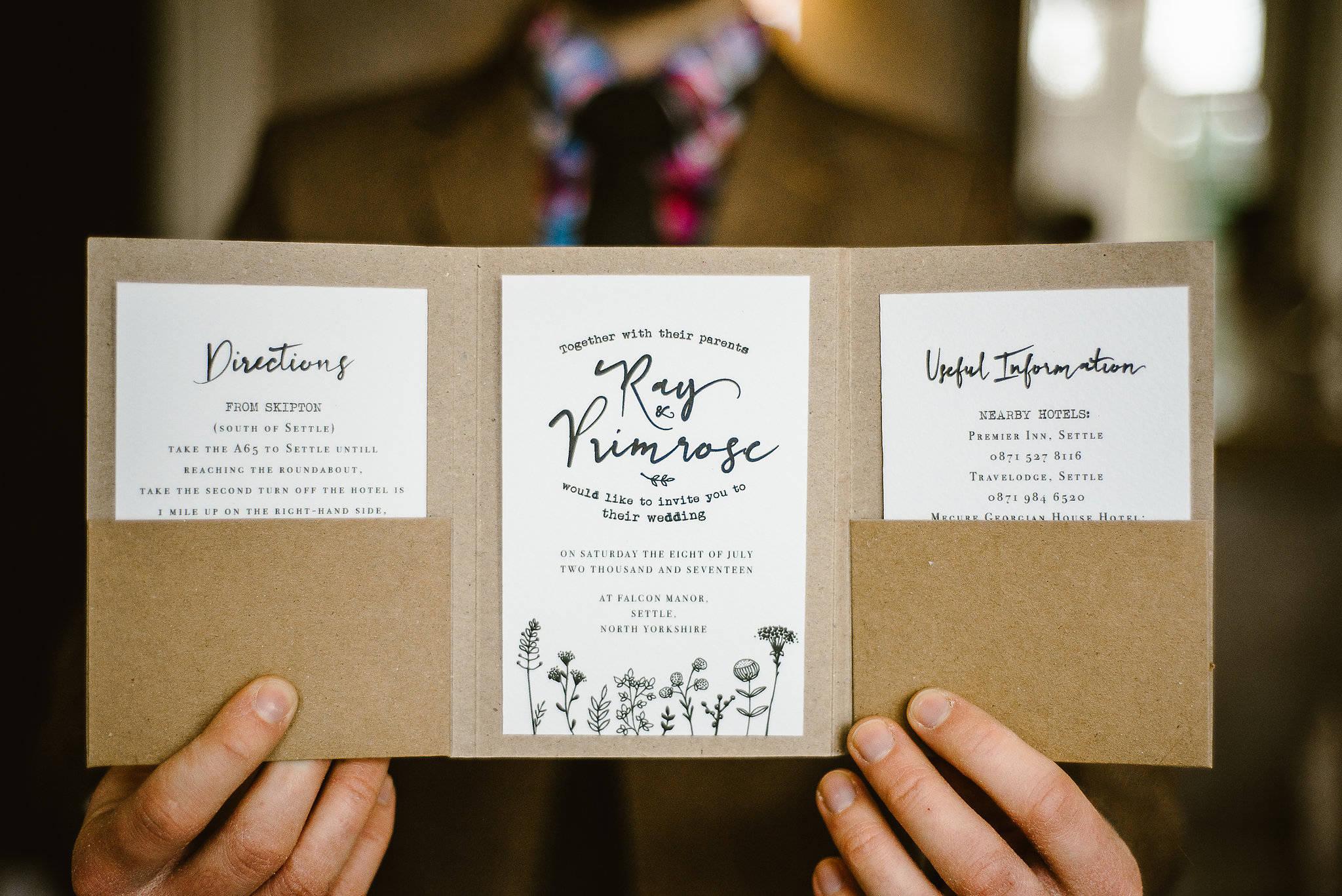 best rustic wedding invitation