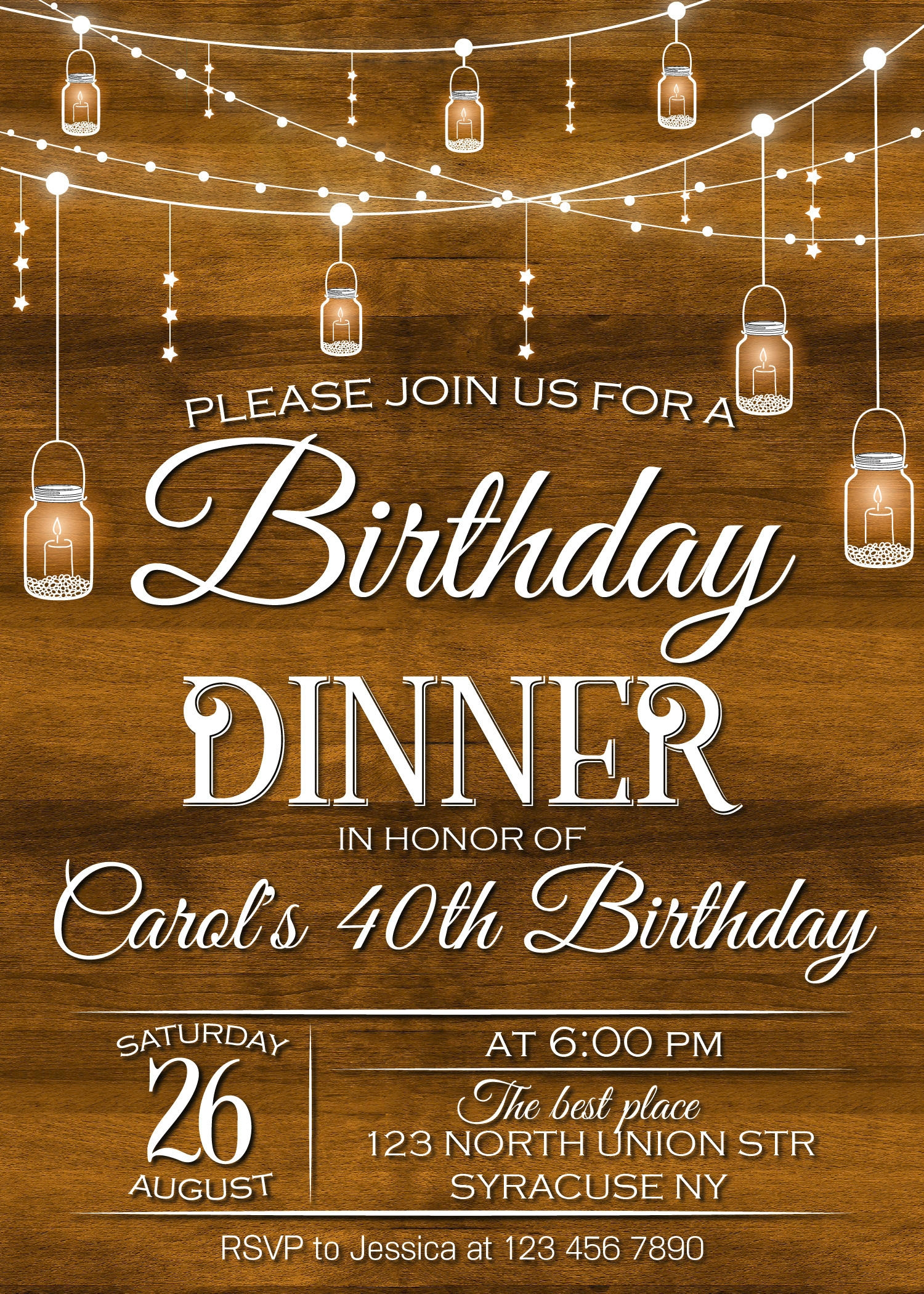 free 32  dinner party invitation designs  u0026 examples in