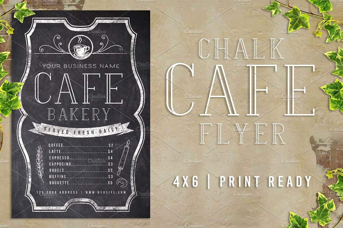 chalk cafe menu