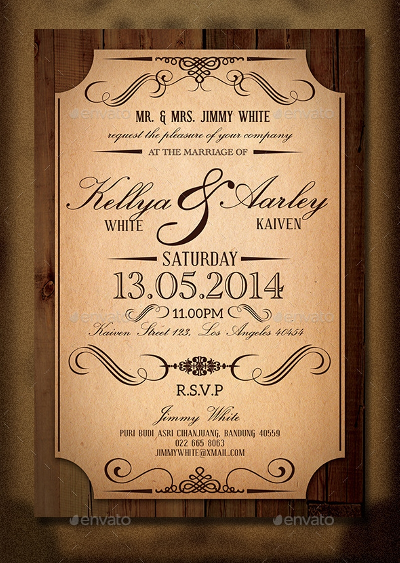 classic wedding invitation21