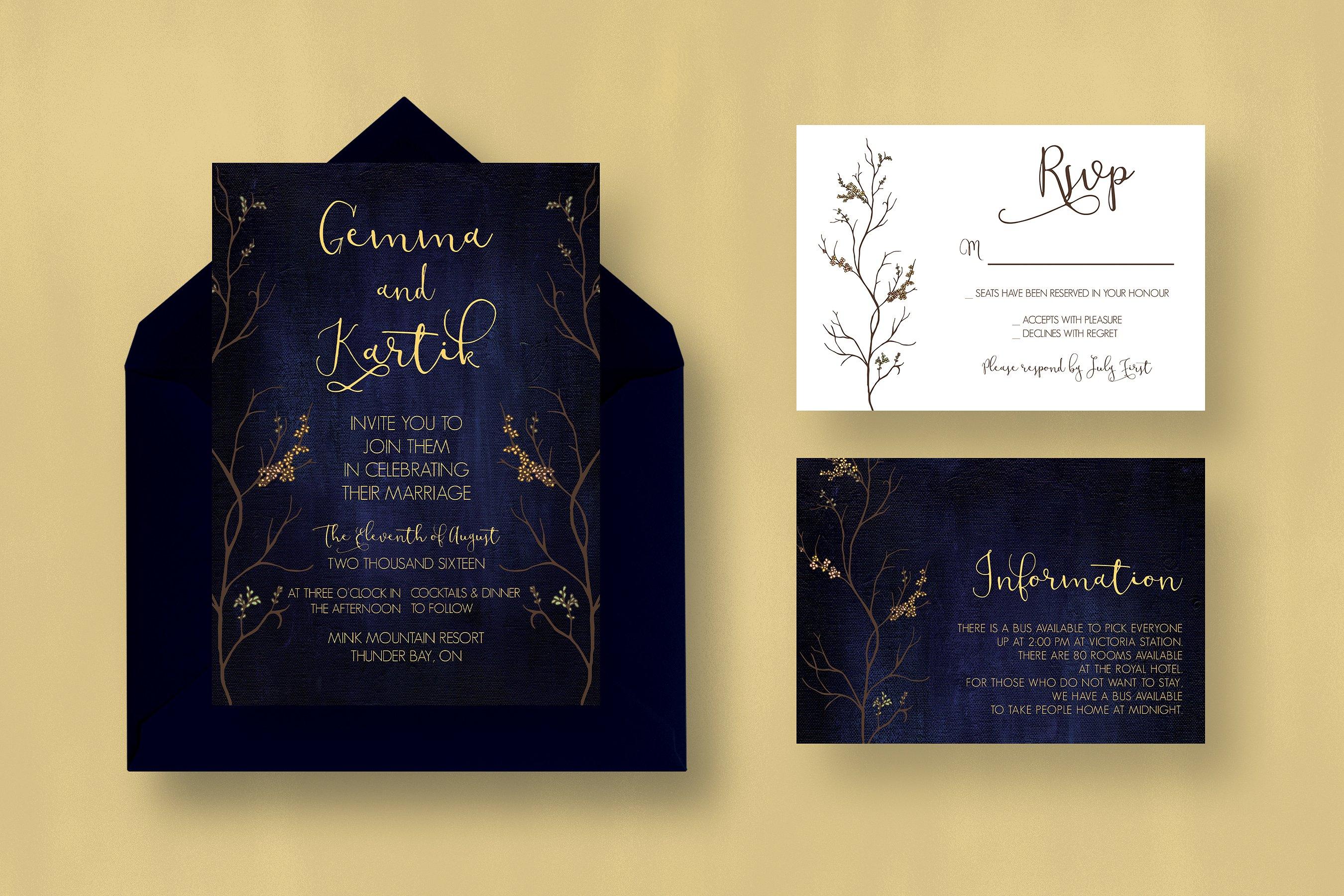 classic wedding invitation3