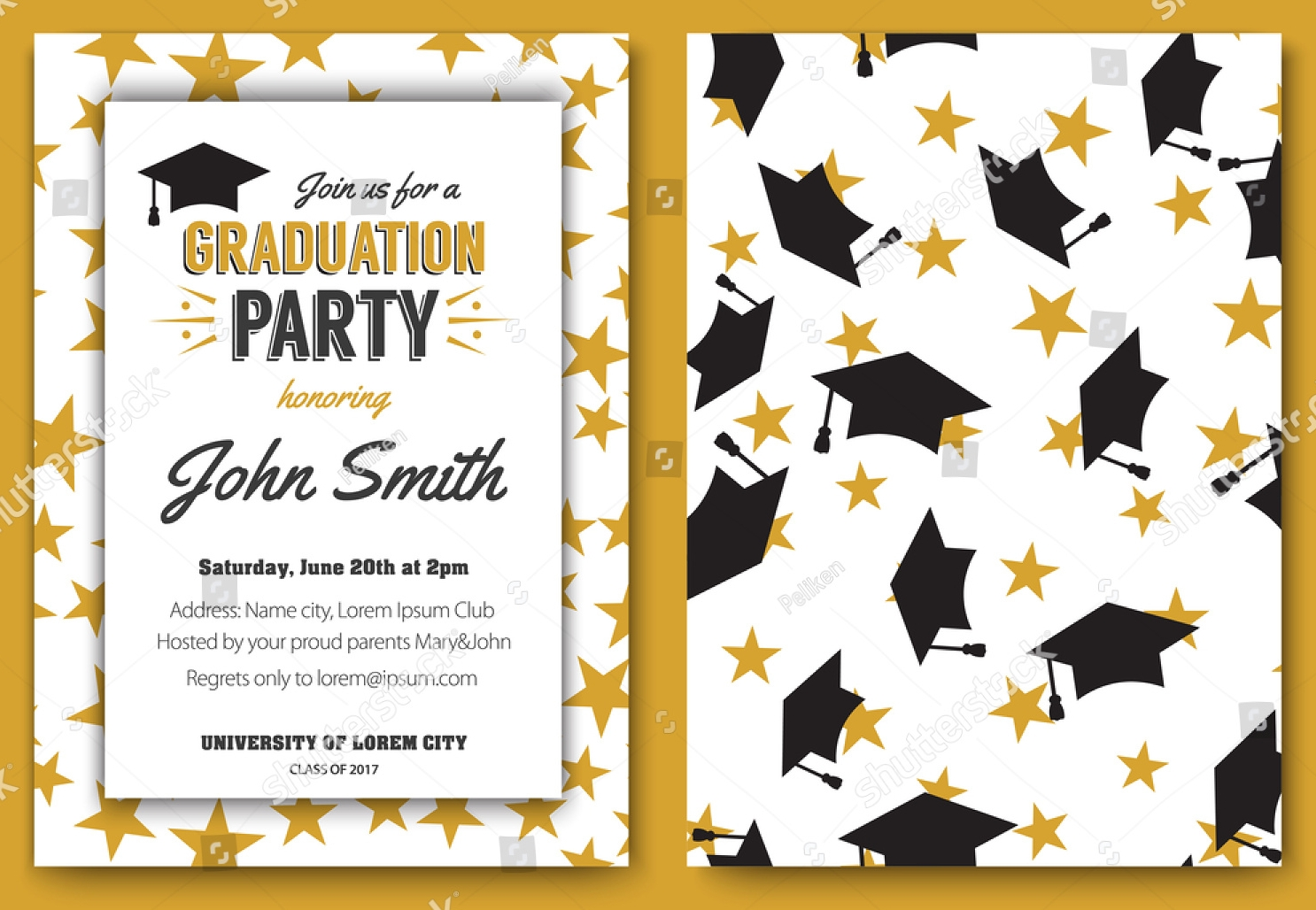 15 college party invitation designs examples psd ai vector eps