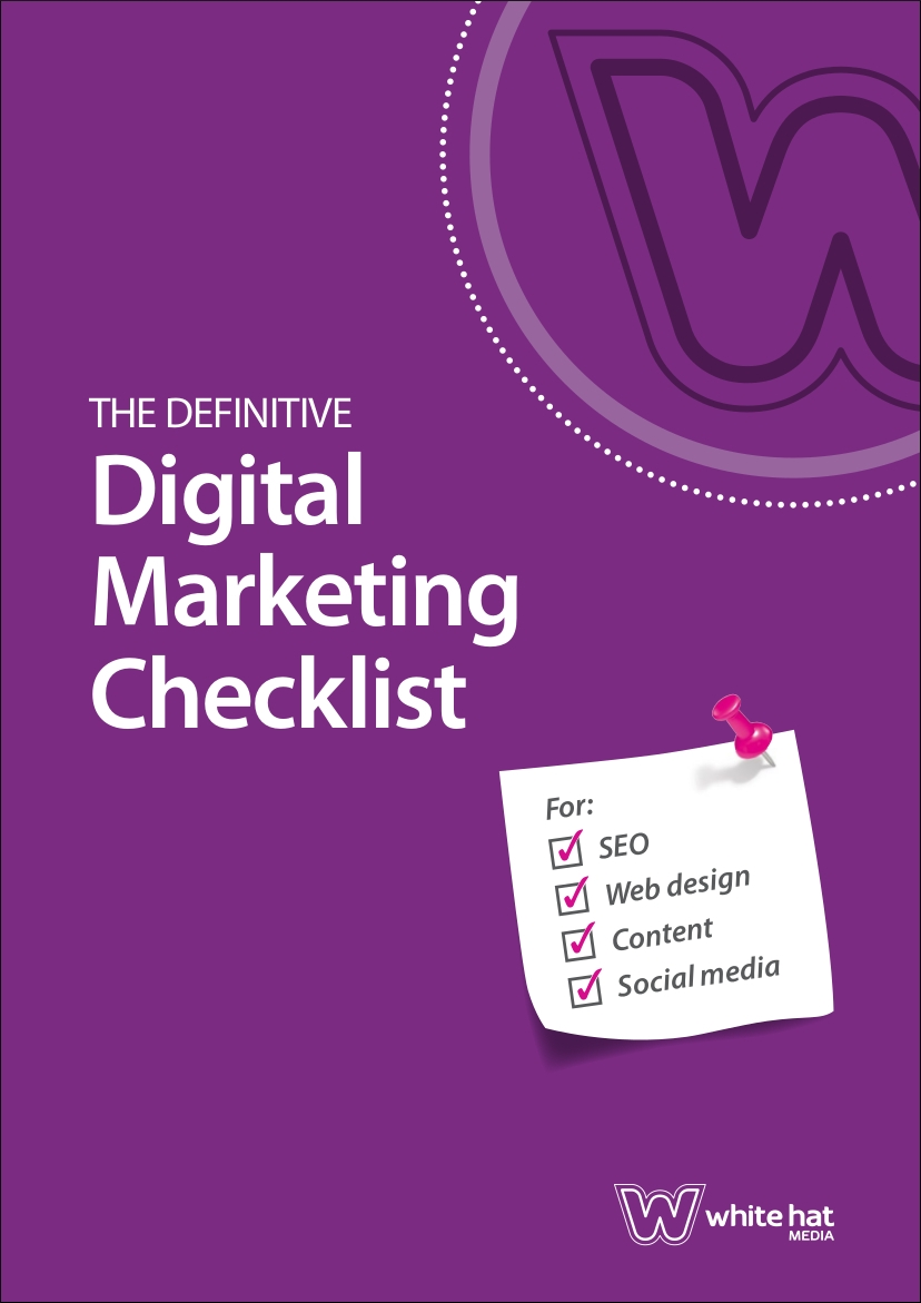 digital marketing checklist sample