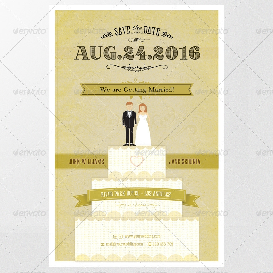 elegant wedding invitation2