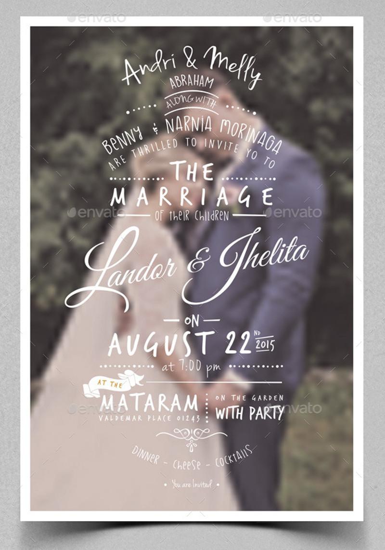 elegant wedding party invitationd