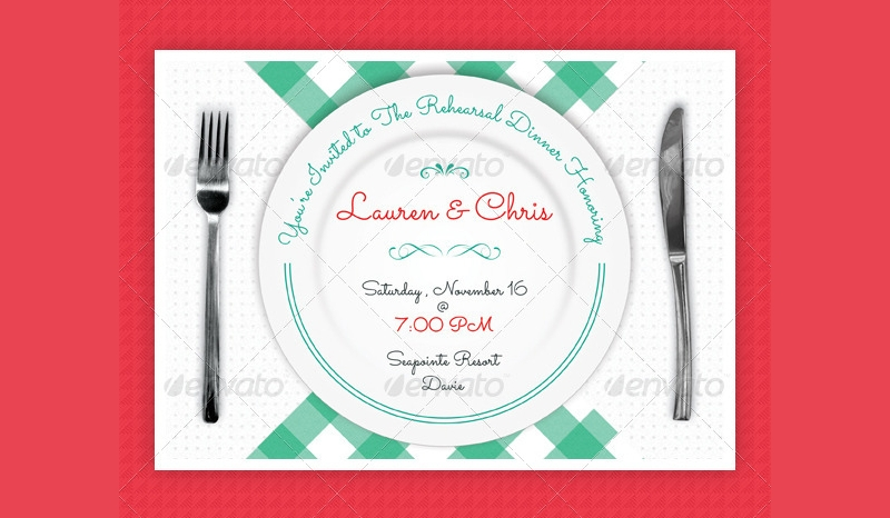 event dinner party invitation
