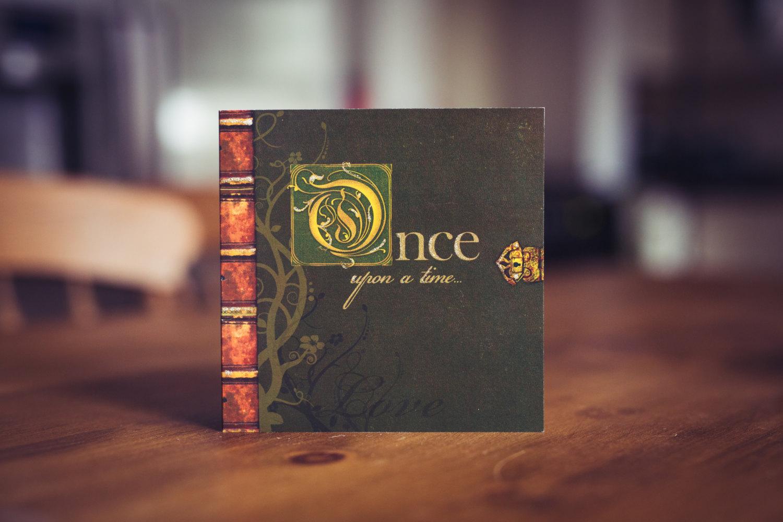 fairy tale fable wedding invitation