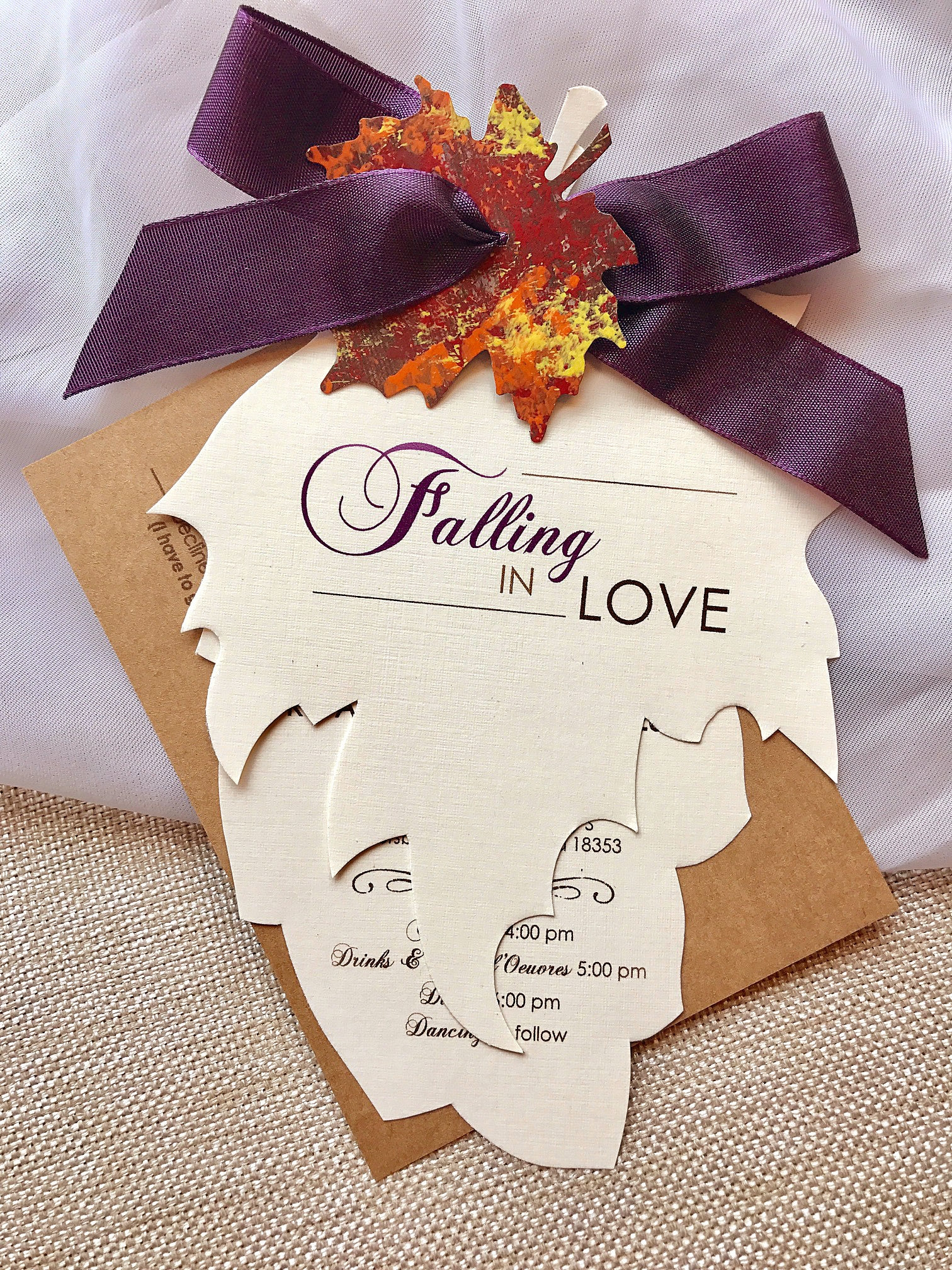 Free 15 Fall Wedding Invitation Designs Amp Examples In Psd