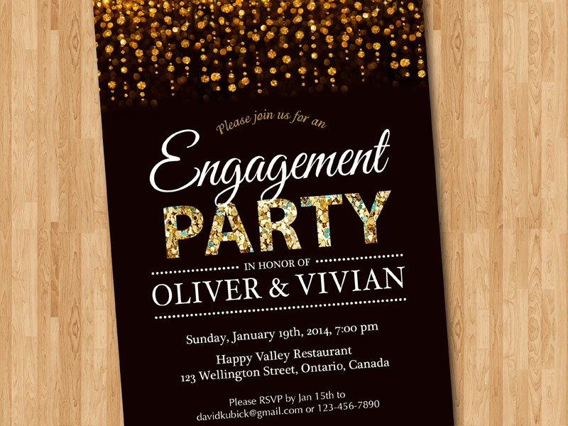 16+ Engagement Party Invitation Designs and Examples - PSD, AI