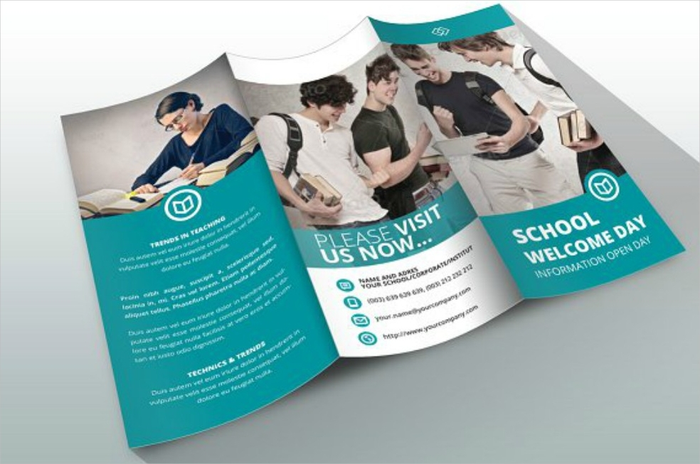 Indesign Marketing Brochure Template