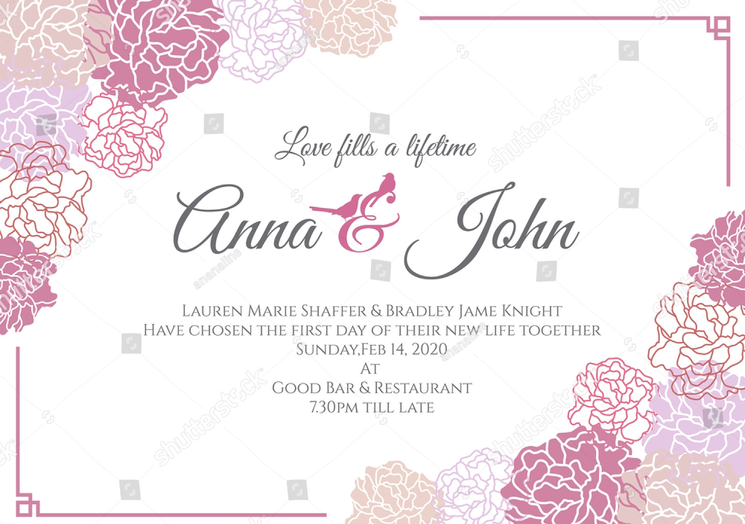 modern wedding invitation4