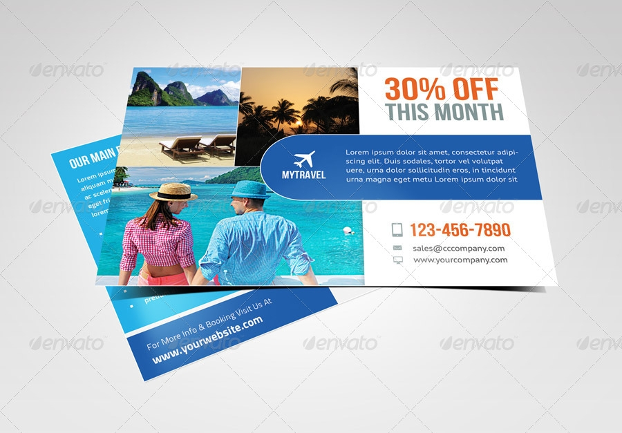 multipurpose marketing postcard