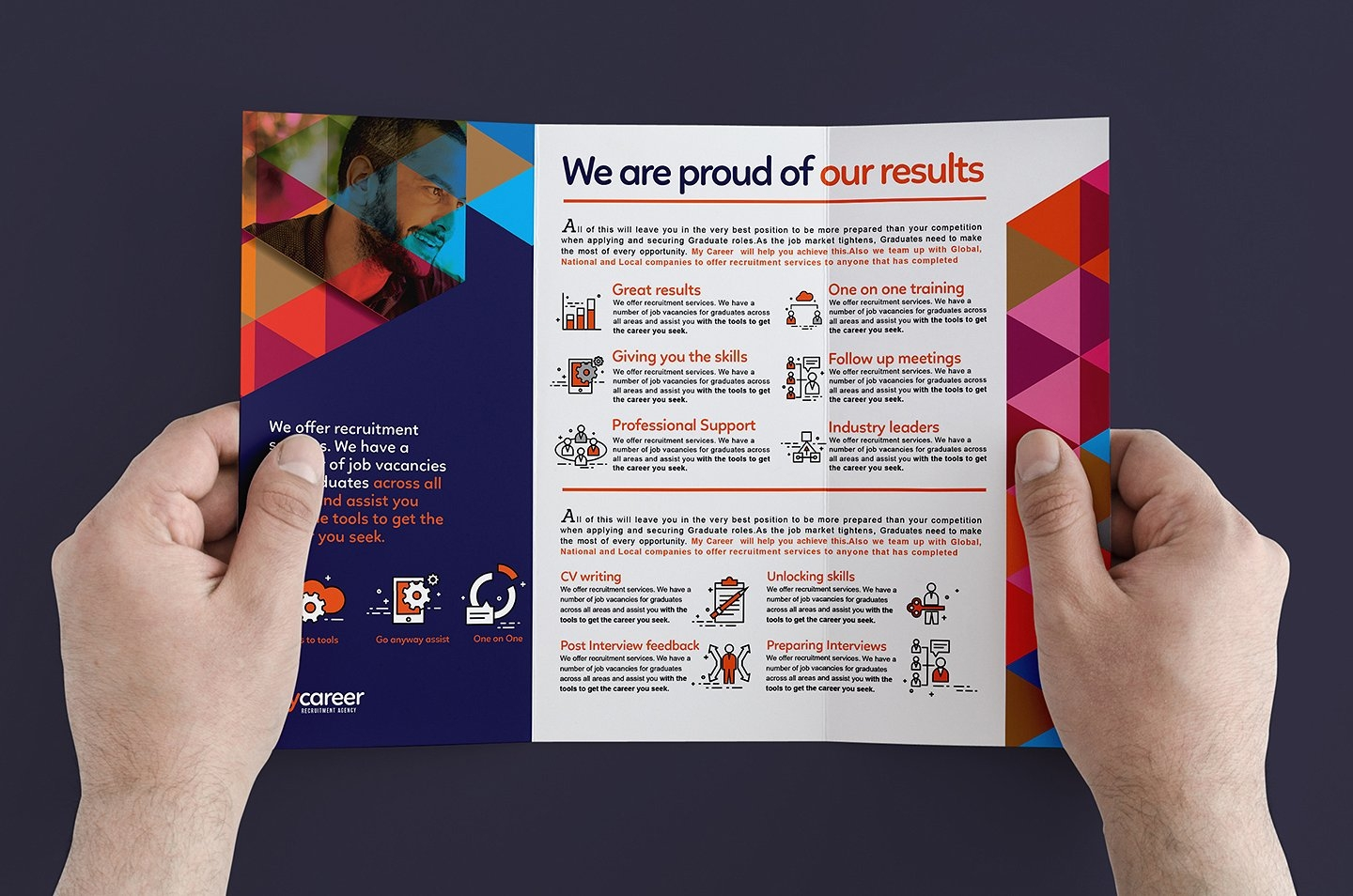 Recruitment Agency Brochure