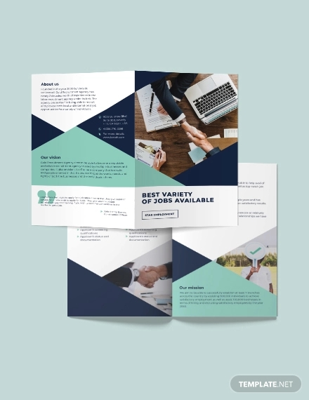 recruitment bi fold brochure template1