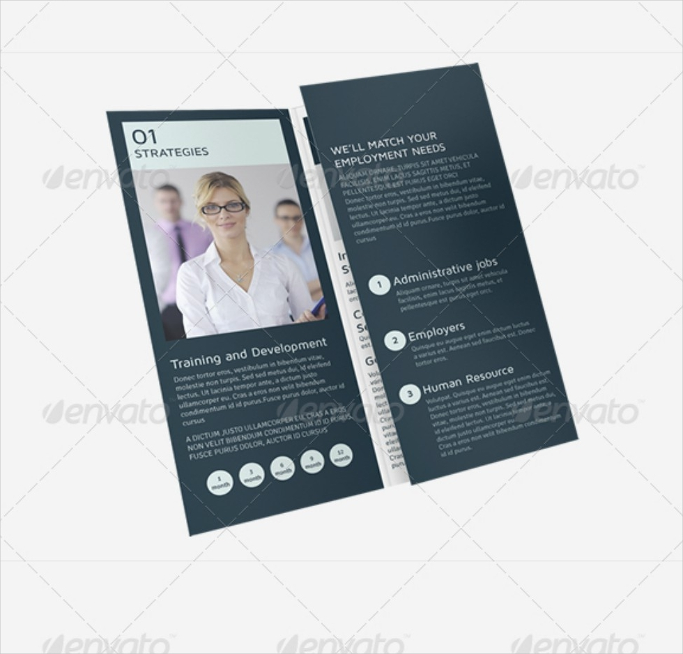 Recruitment Services Tri-fold Brochure