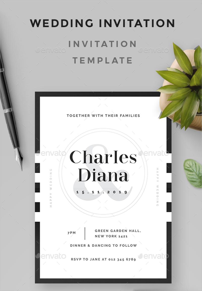 retro wedding invitation1