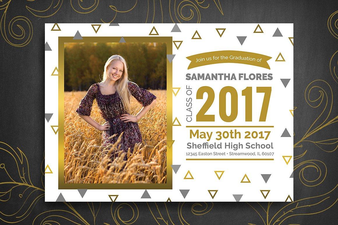 senior graduation party invitation