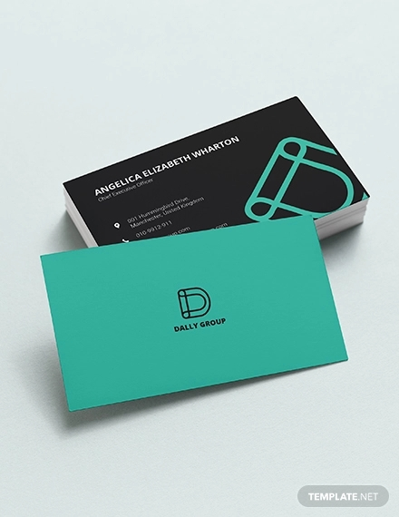 simple ceo business card