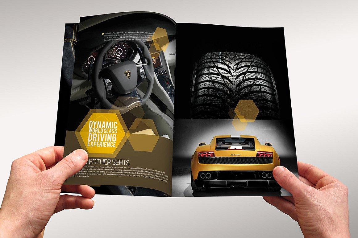 Sports Motor Brochure Design