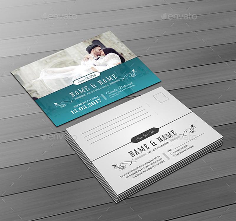 watercolor traditional wedding invitation