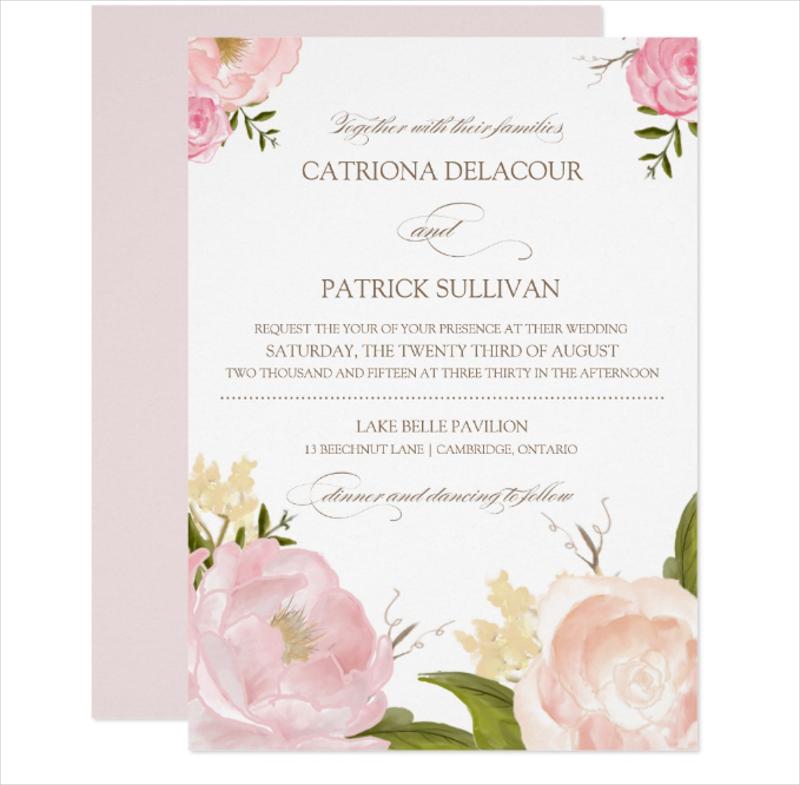 watercolor wedding invitation2