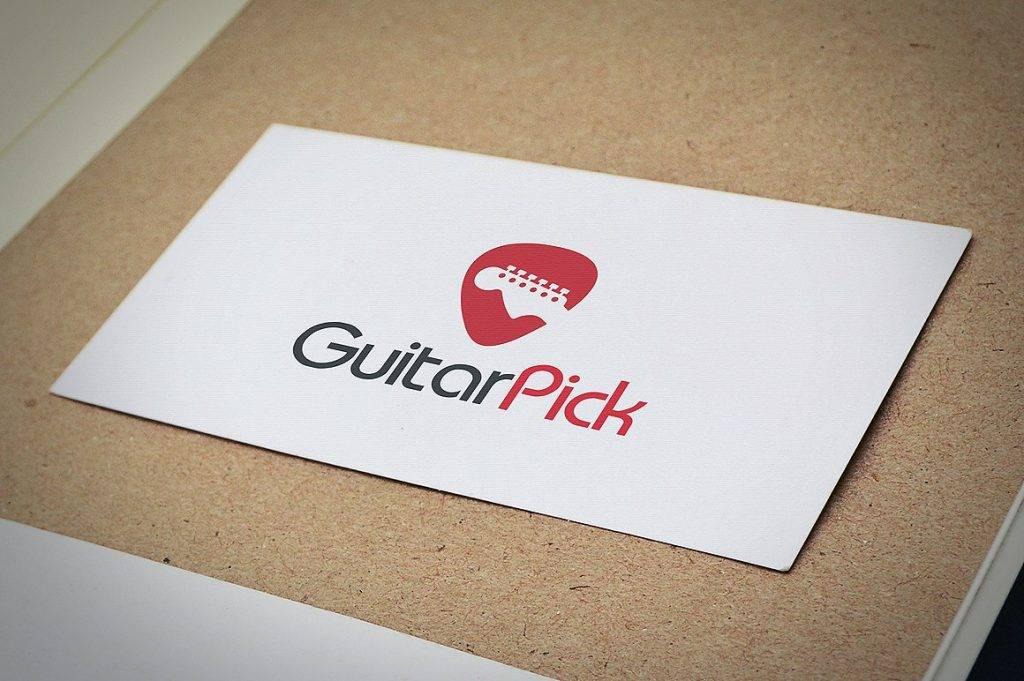 guitar store logo design  1024x681