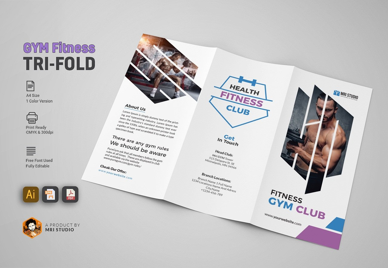 gym trifold 1 cover