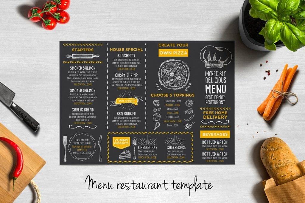 restaurant menu2 1024x681