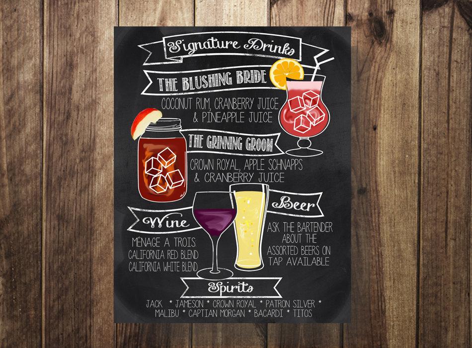 signature drinks