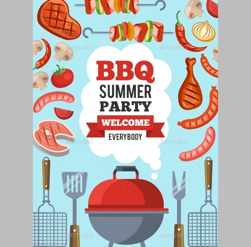 summer bbq party