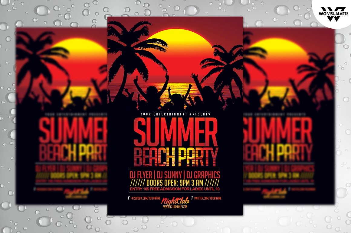 15+ College Party Invitation Designs & Examples - PSD, AI, Vector EPS