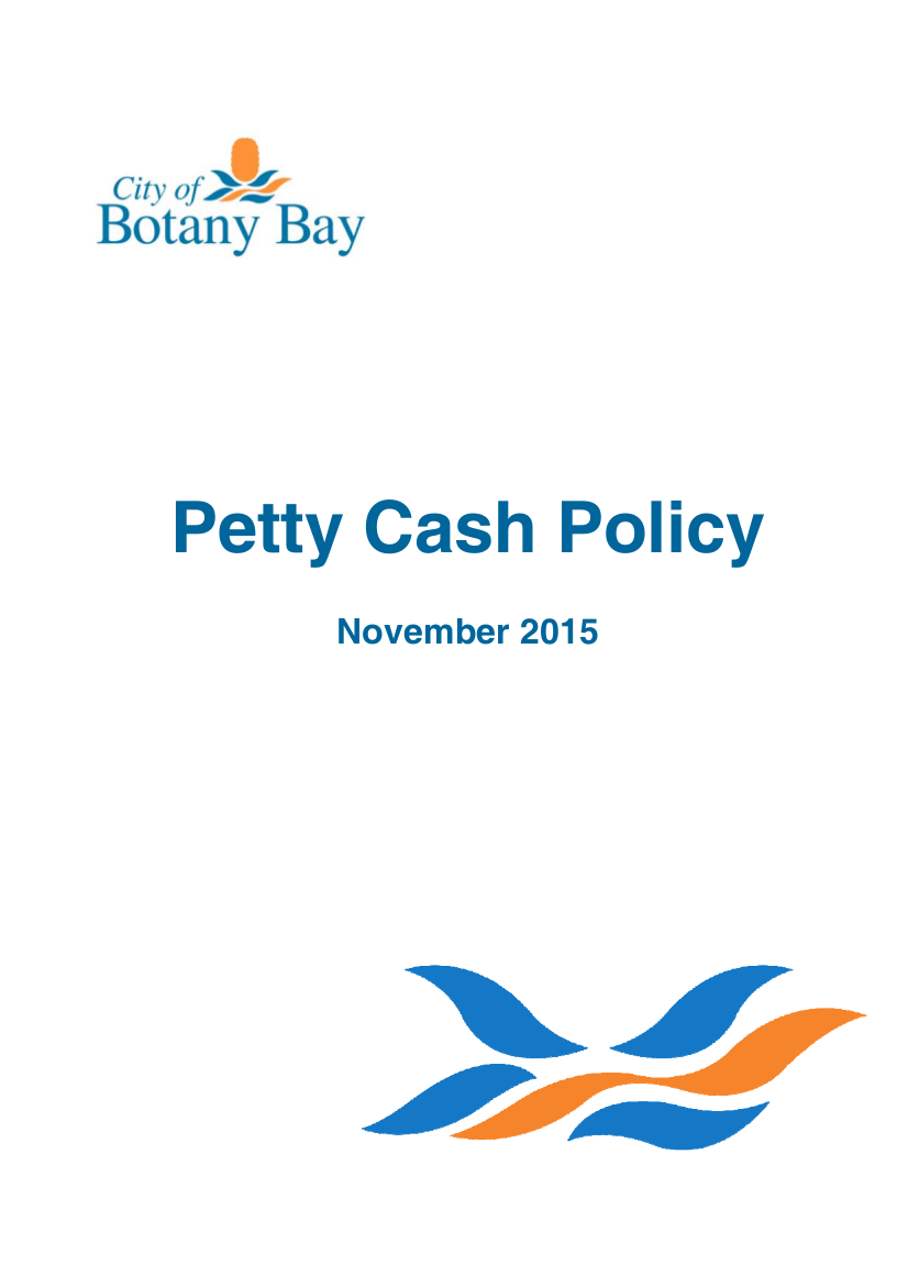 1 petty cash policy