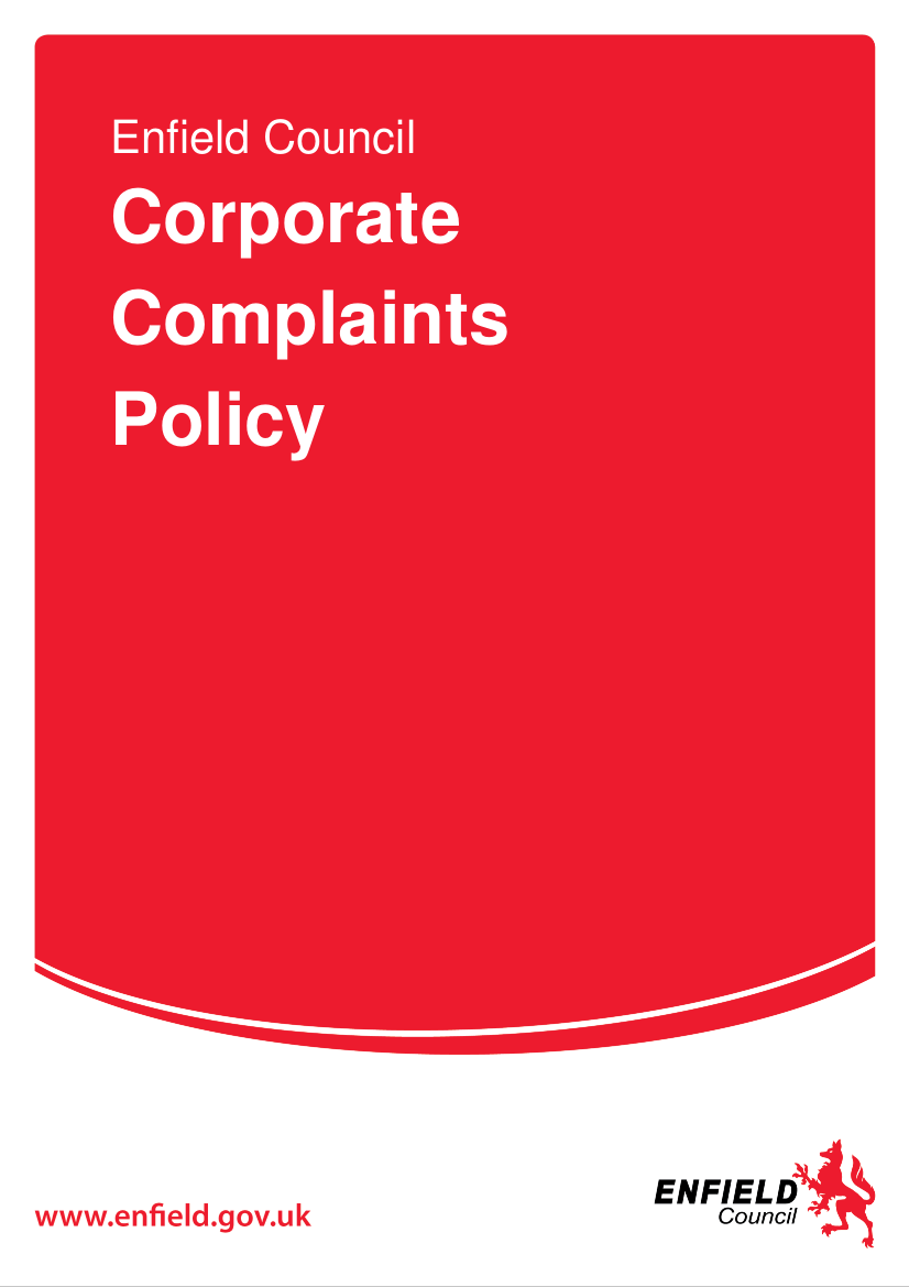 17 Enfield Council Information Complaints policy