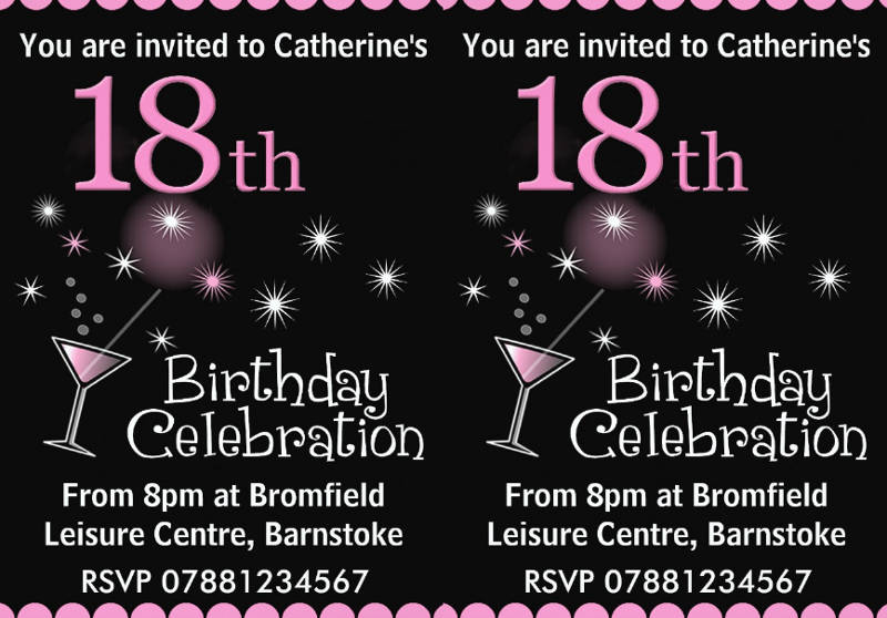 14 18th birthday invitation designs examples psd ai png 18th birthday party invitation design filmwisefo