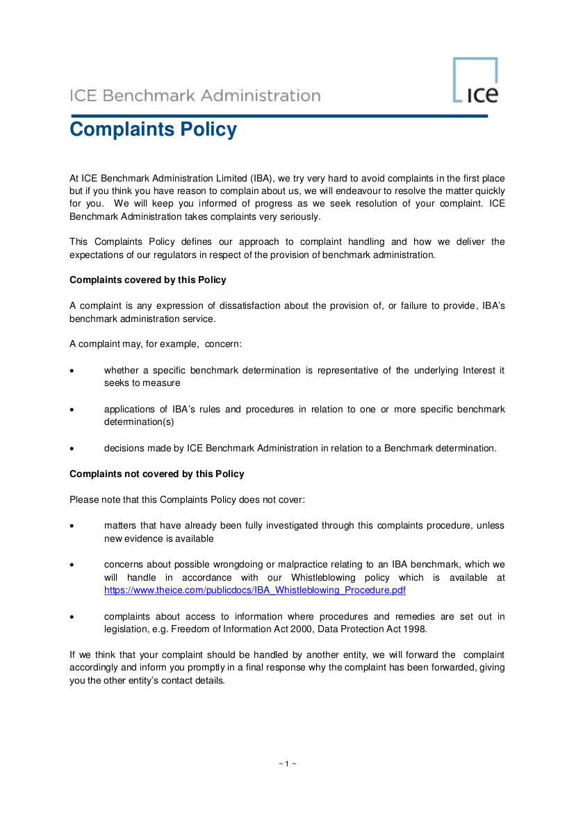 19+ Complaint Policy Examples & Samples