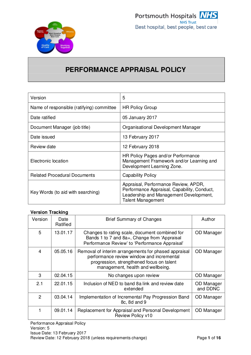 2 performance appraisal policy v5