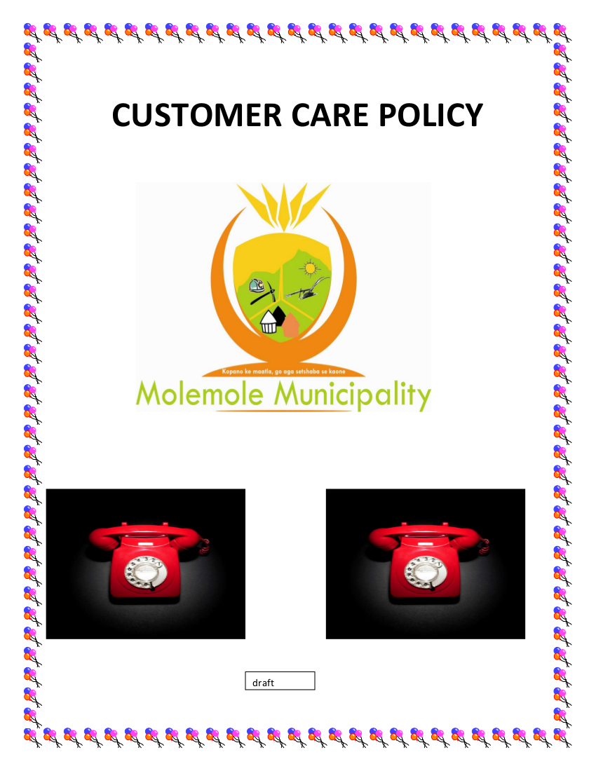 3 customer care policy