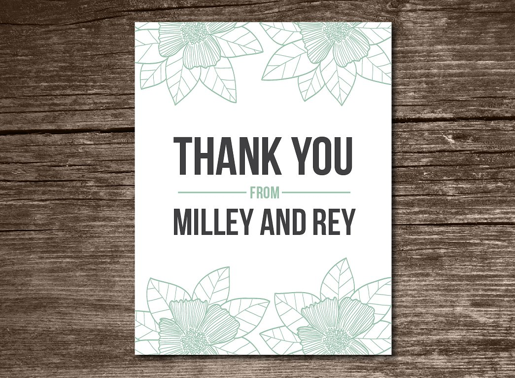 free 29 thank you card samples in psd  ai  eps vector