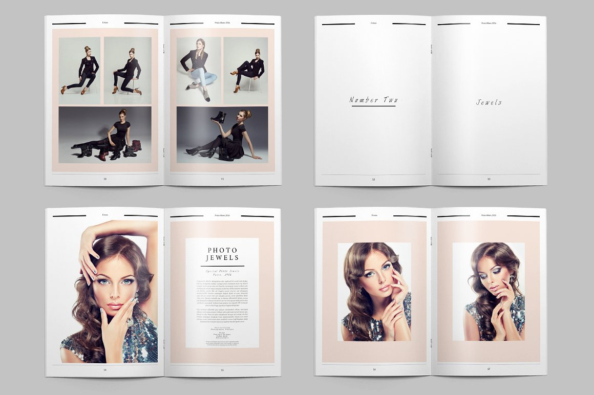 Free 9 Model Portfolio Examples In Psd Ai Eps Vector Examples
