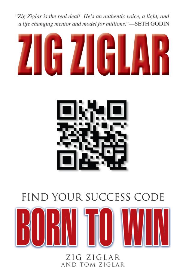 6 Born to Win Workbook by Zig Ziglar