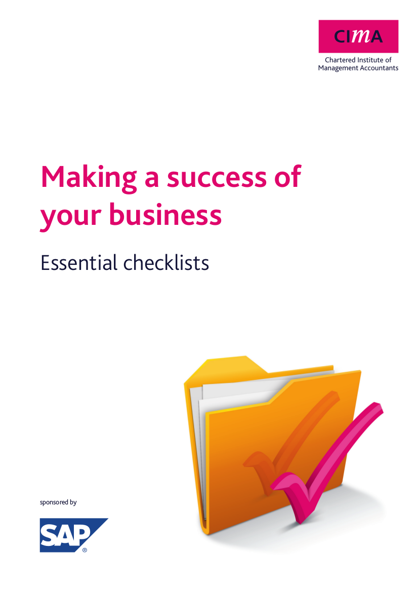 7 making a success checklist