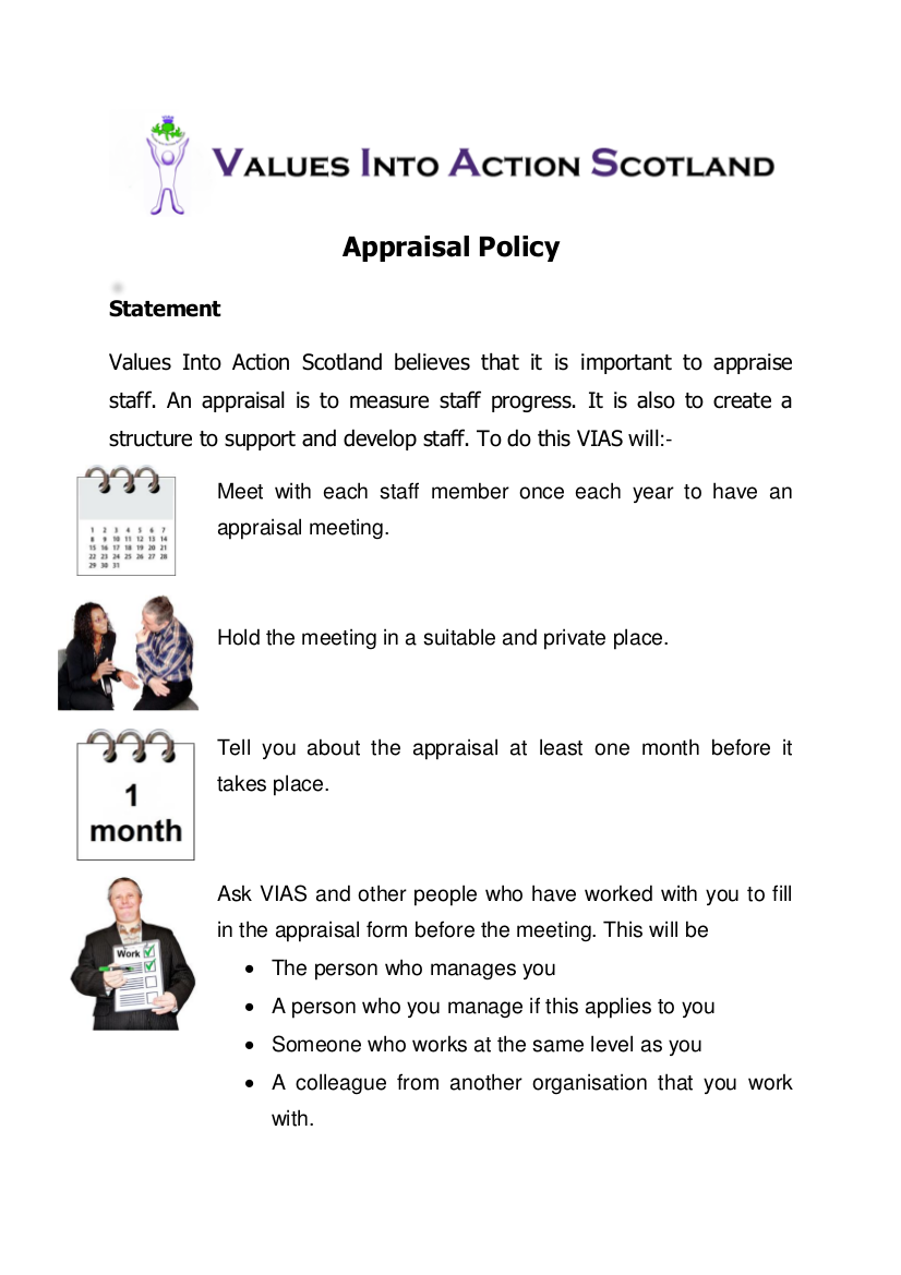 9 appraisal policy